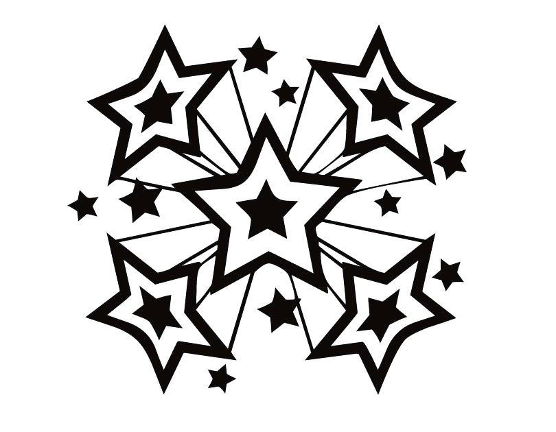 810x630 Stars Coloring Pages Perfect Stars Coloring Pages Free Downloads