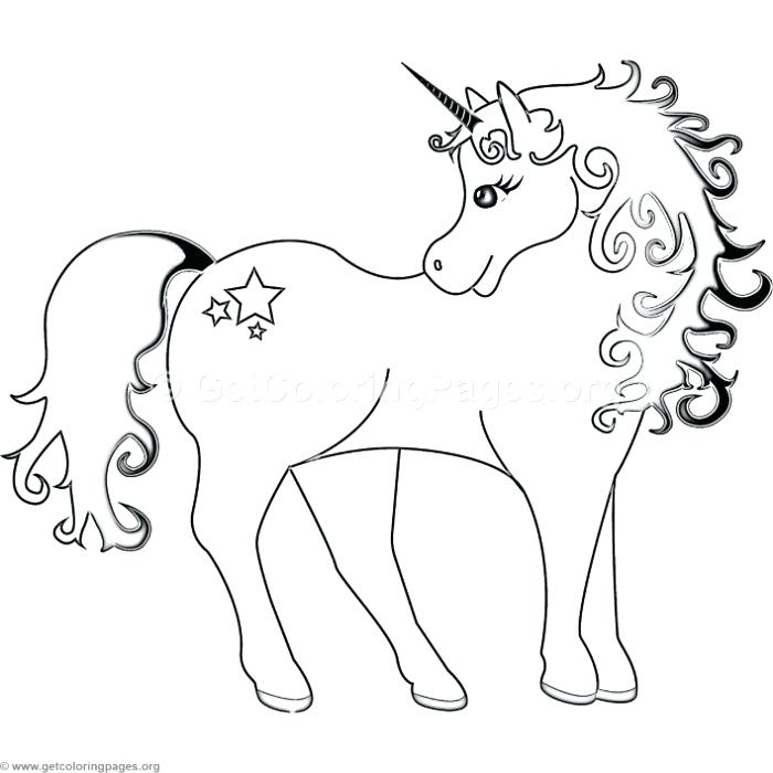 700x700 Unicorn With Stars Coloring Pages Unicorn With Stars Coloring