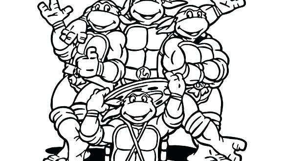 585x329 Ninja Turtle Color Sheets Coloring Sheets Ninja Turtles Coloring