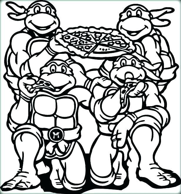 615x656 Ninja Turtle Coloring Sheets S S S S Ninja Turtles Christmas