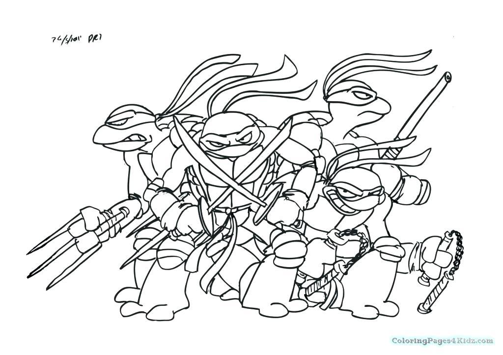 1024x723 Ninja Turtle Coloring Sheets Teenage Coloring Pages Teenage Mutant