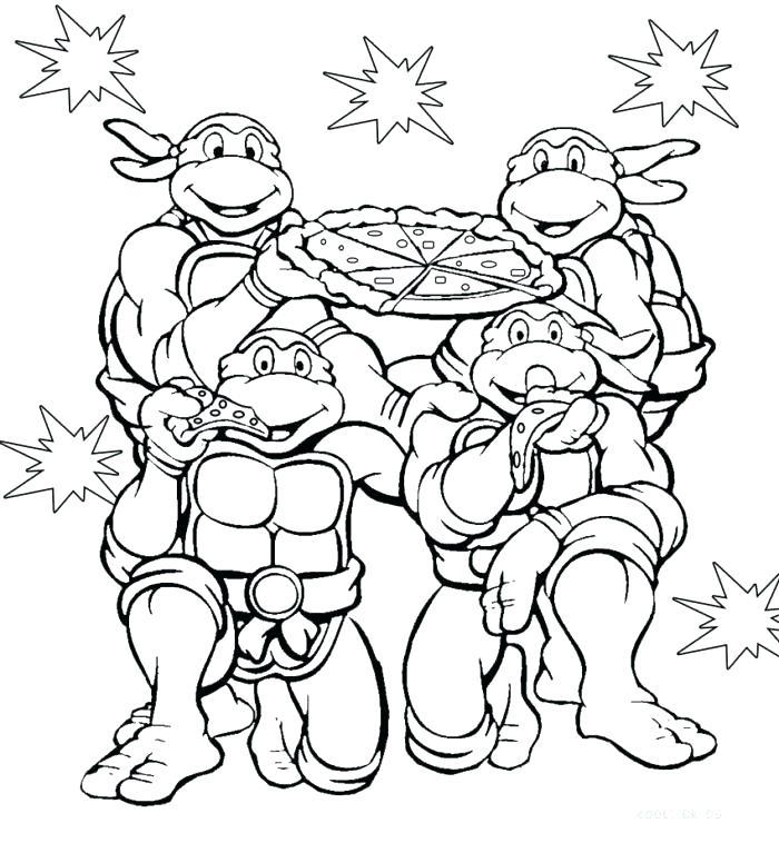 700x758 Teenage Mutant Ninja Turtles Christmas Coloring Pages Book Free