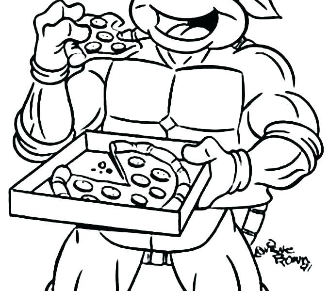 678x600 Teenage Mutant Ninja Turtles Coloring Pages For Kids Ninja Turtle