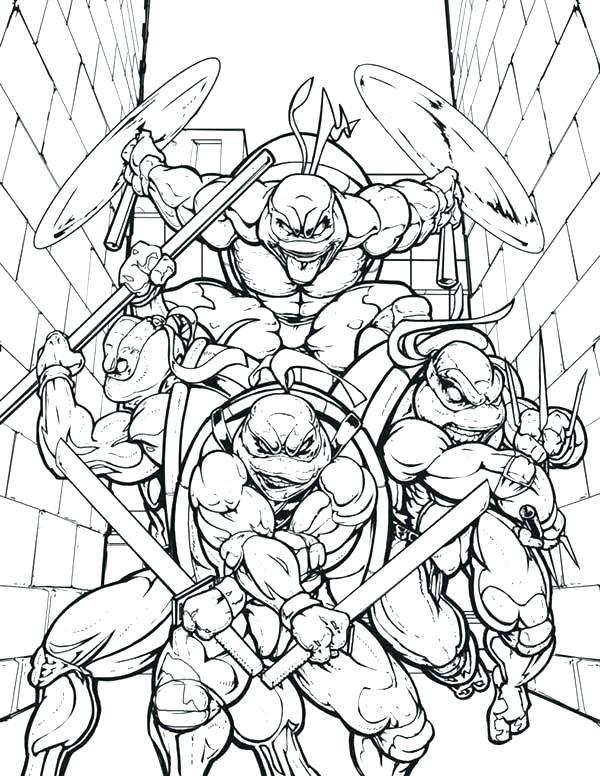 600x776 Coloring Pages Ninja Turtles Teenage Mutant Ninja Turtles Coloring