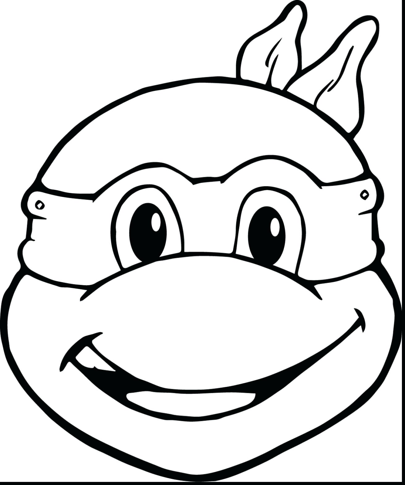 Ninja Turtle Coloring Pages For Toddlers at GetDrawings.com | Free ...