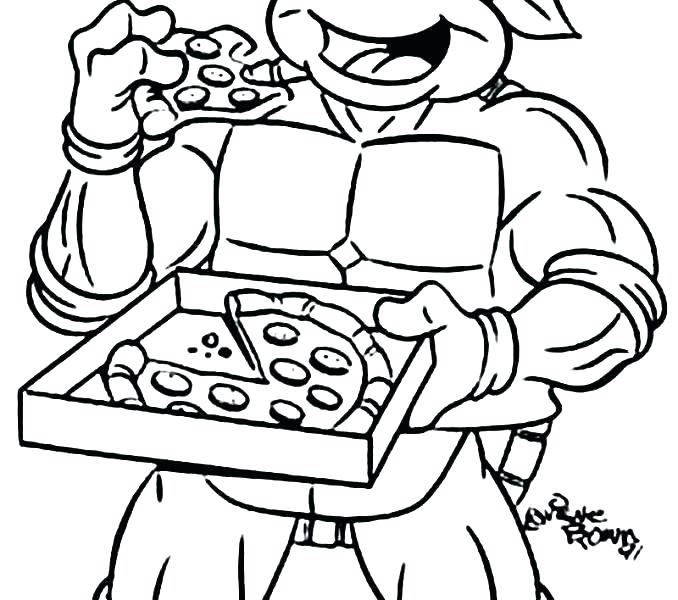 678x600 Ninja Turtles Coloring Pages Ideal Ninja Turtle Coloring Pages