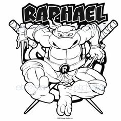 236x236 Teenage Mutant Ninja Turtles Coloring Pages