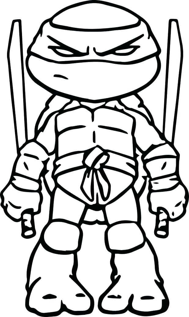 618x1038 Ninjas Coloring Pages Ninja Turtle Coloring Pages Michelangelo