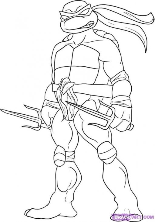 511x730 Raphael With His Sai Wepon In Teenage Mutant Ninja Turtles
