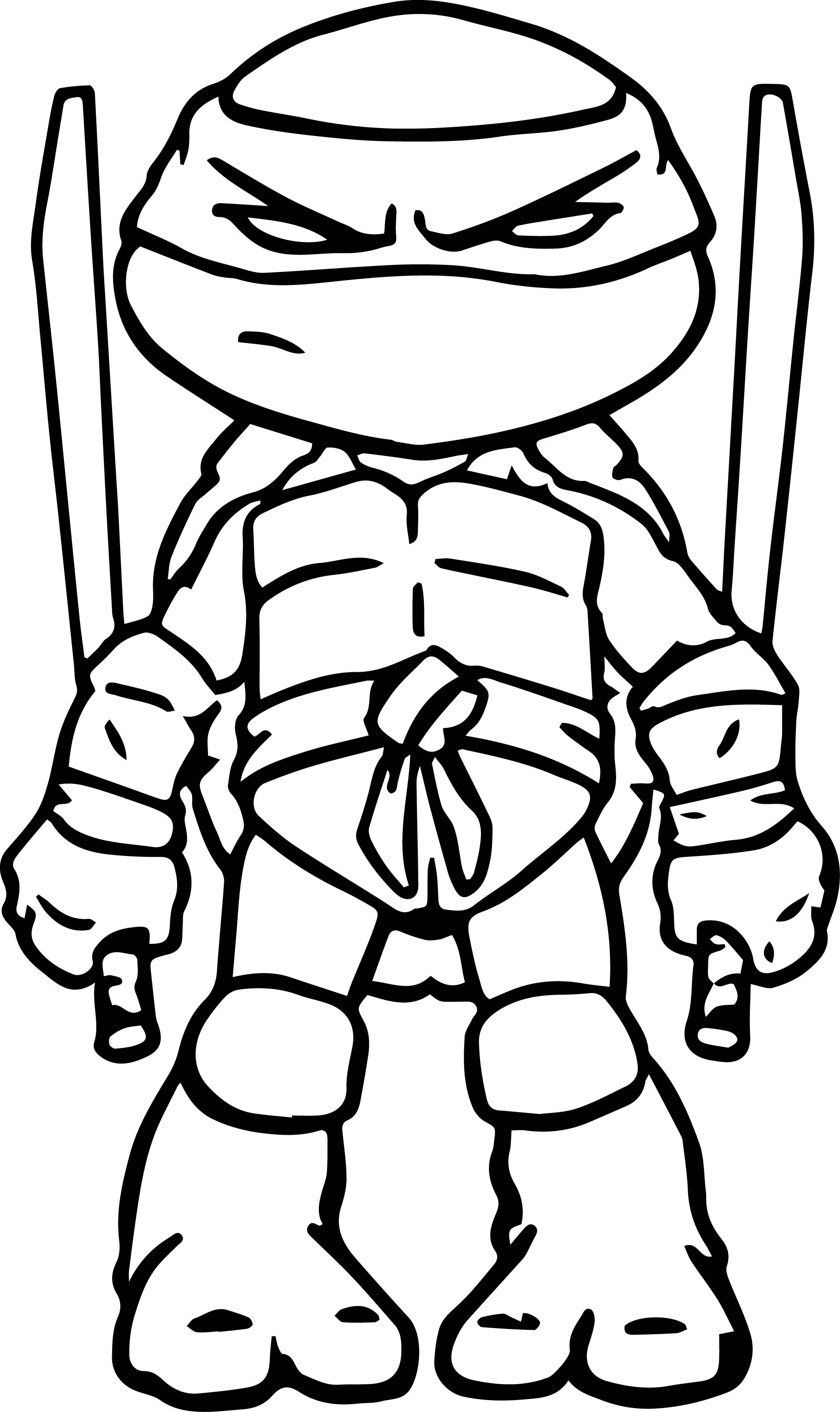 1902x3197 New Teenage Mutant Ninja Turtles Tmnt Coloring Page Donatello