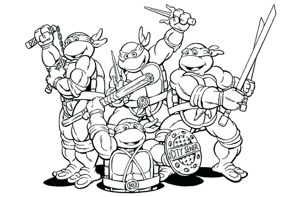 960x640 Ninja Turtles Coloring Sheet Coloring Pages Ninja Turtles