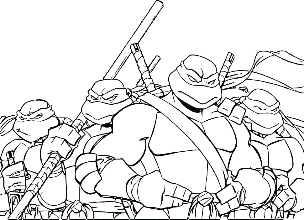 970x702 Teenage Mutant Ninja Turtle Coloring Pages Coloring Pages Coloring