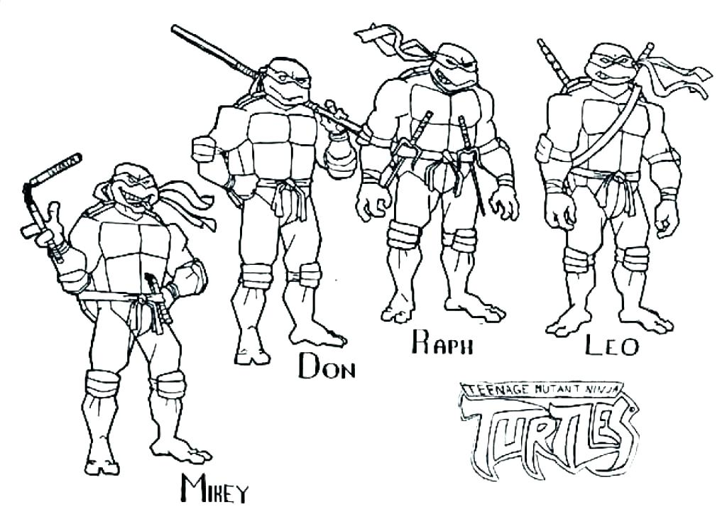 1024x721 Teenage Mutant Ninja Turtles Coloring Pages Ninja Turtle Coloring