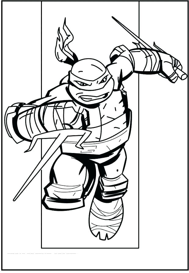 618x892 Teenage Mutant Ninja Turtles Coloring Pages Teenage Mutant Ninja