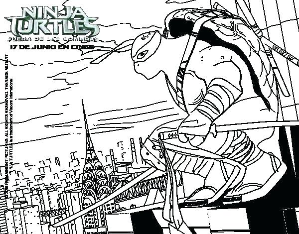 600x470 Teenage Ninja Turtles Coloring Pages In Online Teenage Mutant