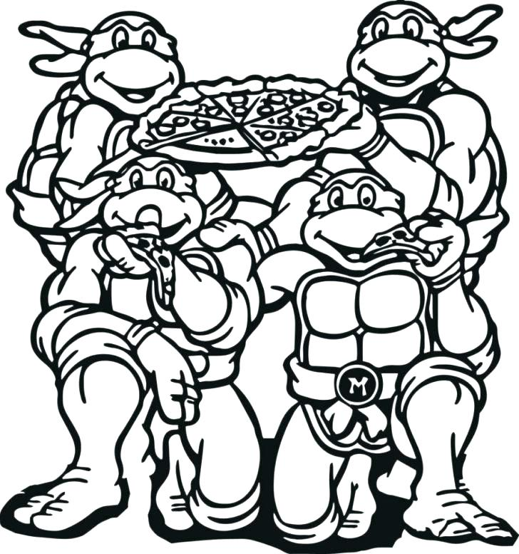 728x776 Teenage Ninja Turtles Coloring Pages Teenage Mutant Ninja Turtles