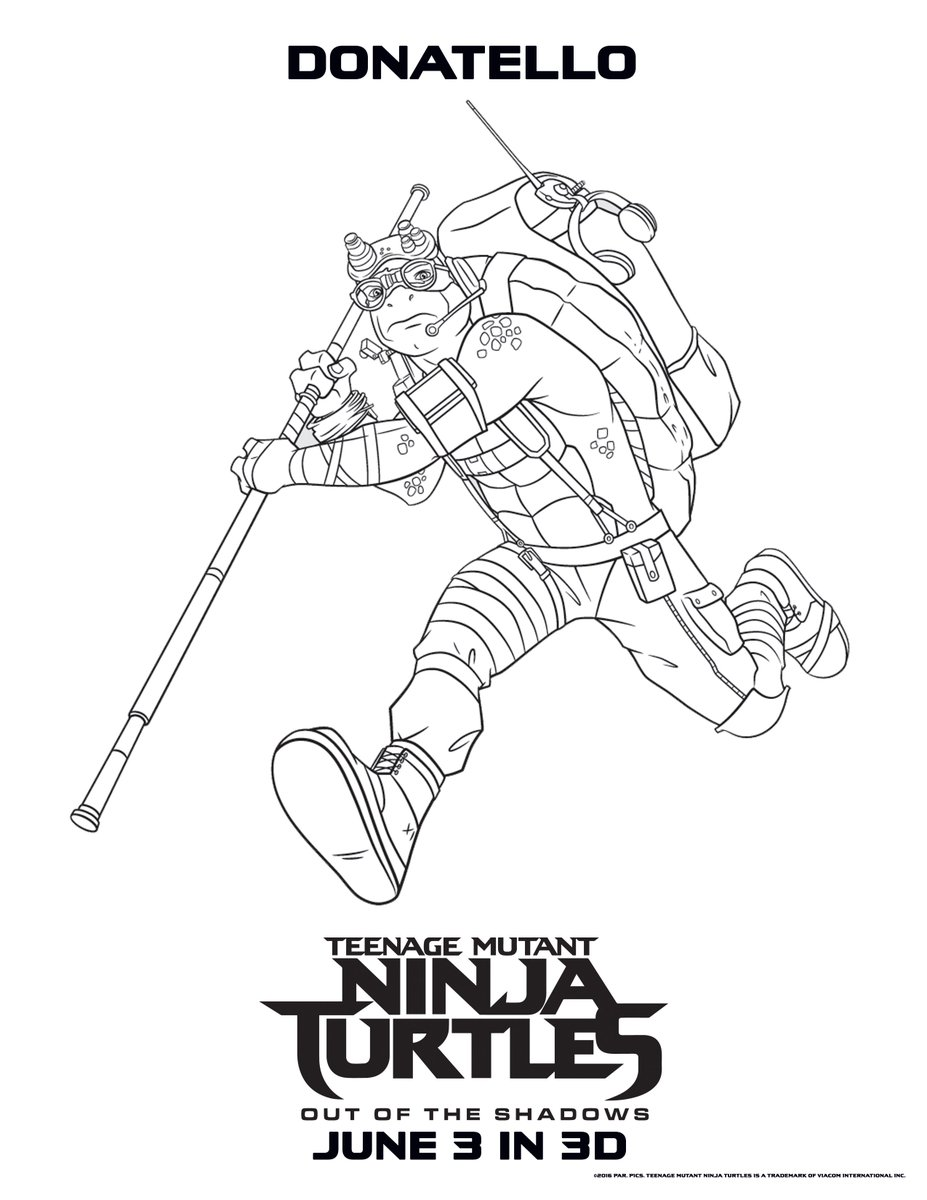 927x1200 Fyrir Coloring Teenage Mutant Ninja Turtles Out