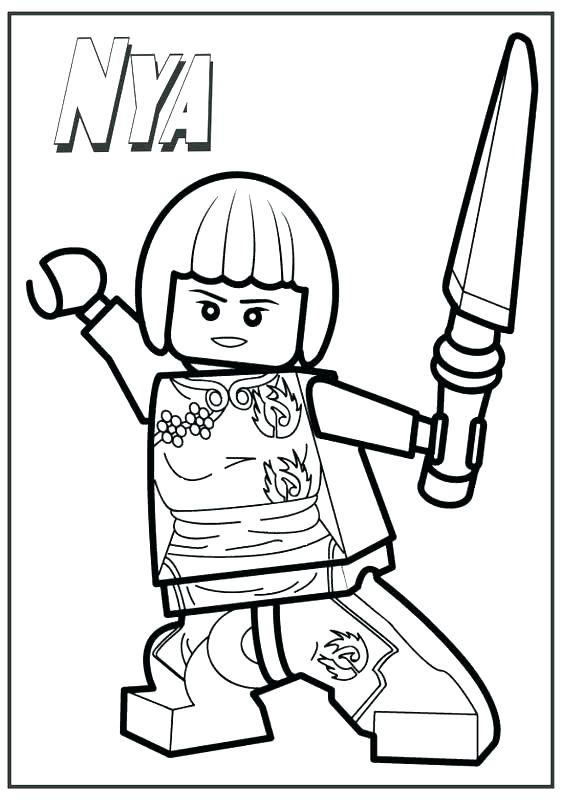 564x802 Lego Ninja Coloring Pages Ninja Coloring Page Evil Green Ninja