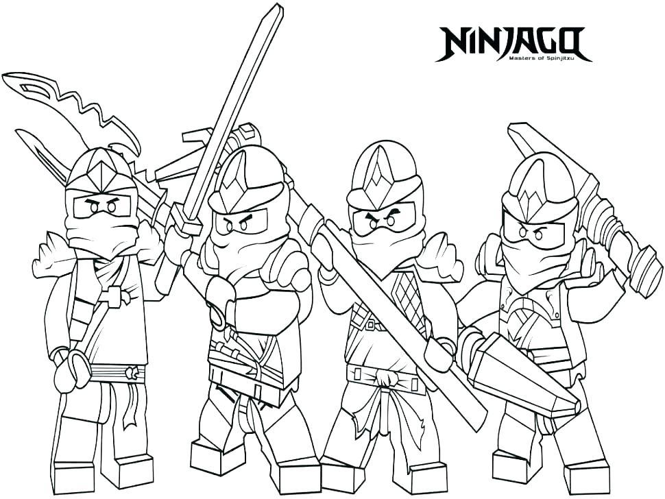 970x728 Ninjago Lloyd Coloring Pages Coloring Pages Line Ninjago Coloring