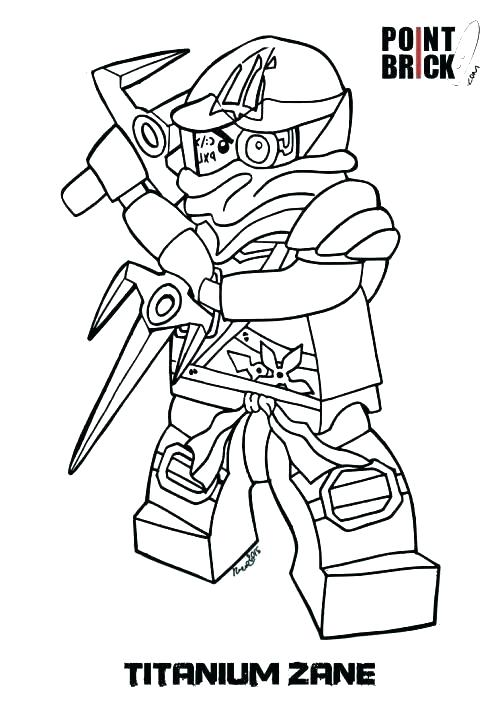 Ninjago Coloring Pages Pdf At Getdrawingscom Free For Personal