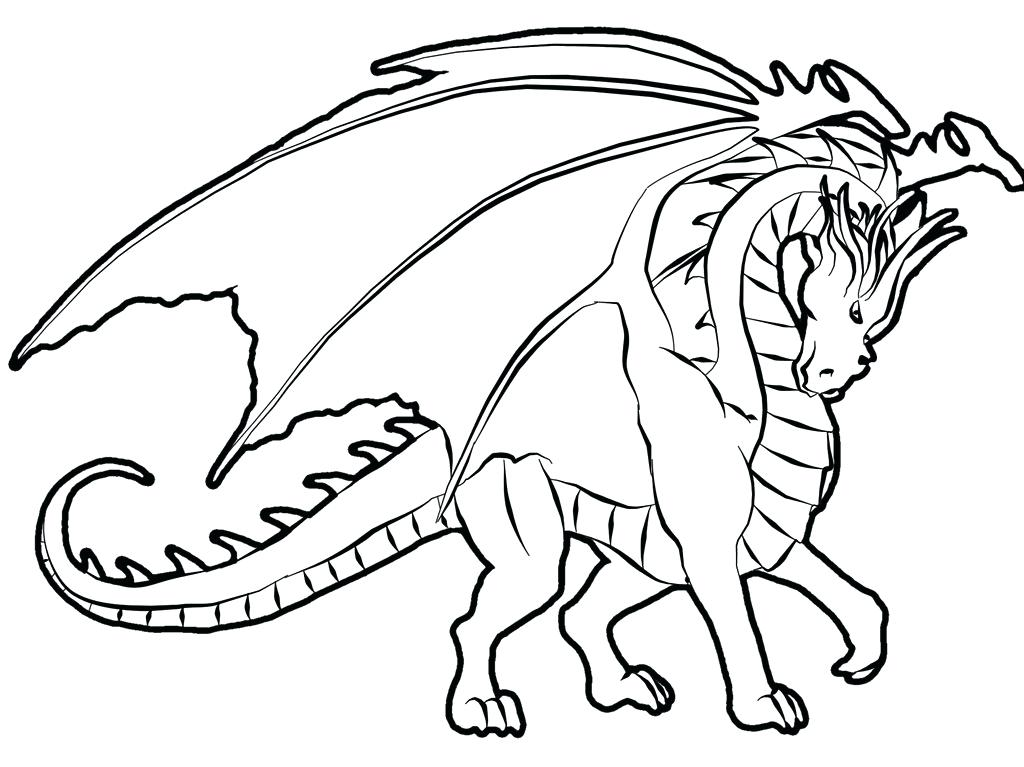 1024x767 Ninjago Dragon Coloring Pages Free Printable Dragon Coloring Pages