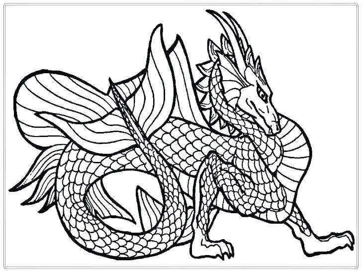 728x546 Ninjago Dragon Coloring Pages Idea Dragon Coloring Pages
