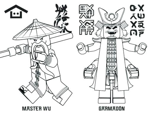 500x389 Ninjago Dragon Coloring Pages Lego Ninjago Dragon Coloring Pages