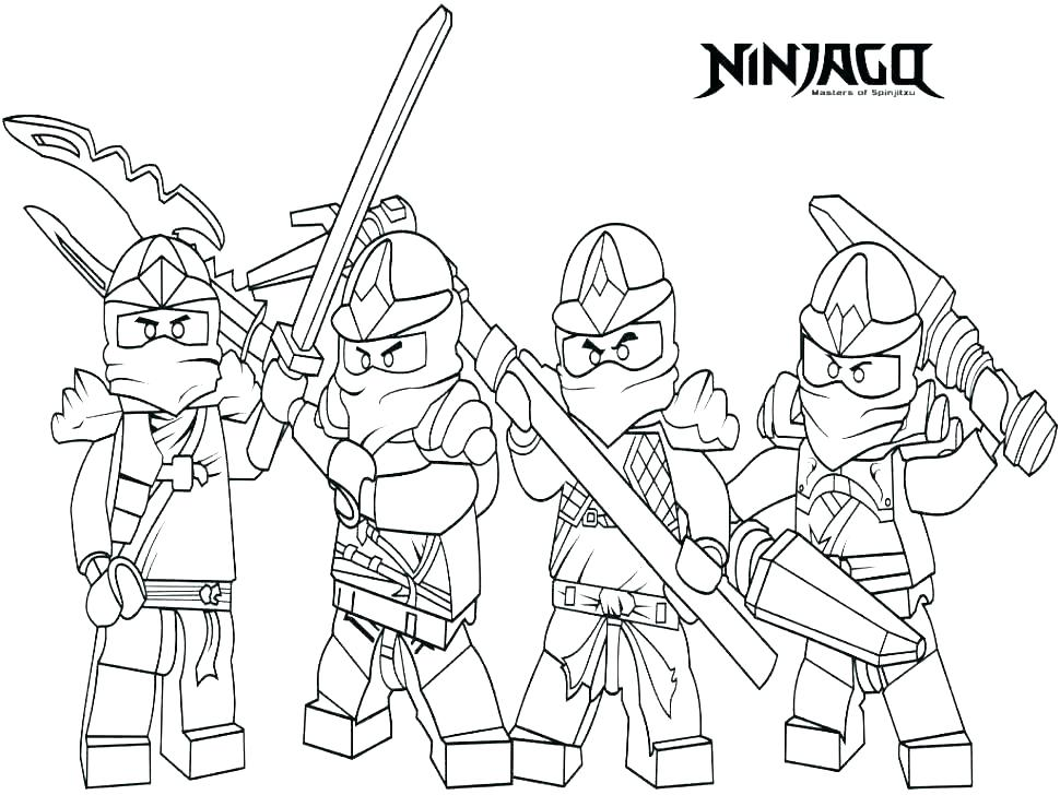 970x728 Ninjago Dragon Coloring Pages