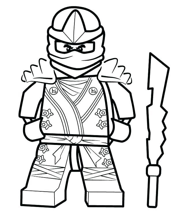 Ninjago Golden Ninja Coloring Pages At Getdrawings Com