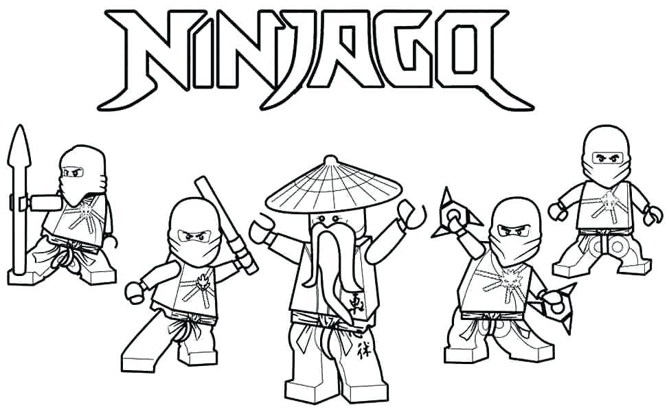 Ninjago Golden Ninja Coloring Pages At Getdrawings Free Download