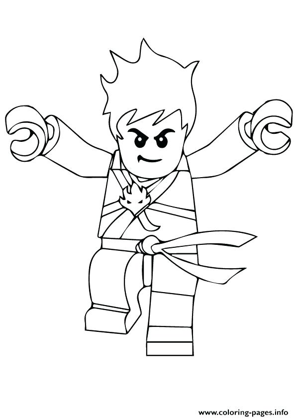 595x842 Kai Coloring Pages Coloring Pages Ninjago Kai Coloring Pages