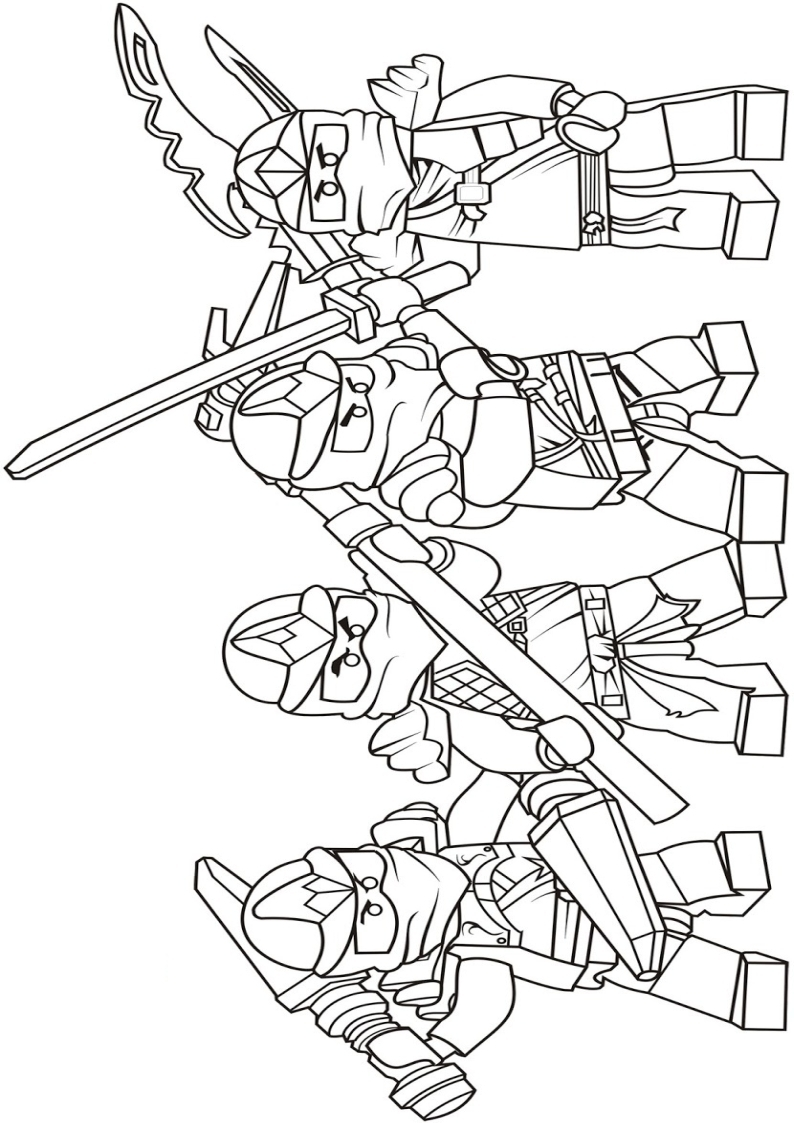 Ninjago Lloyd Coloring Pages