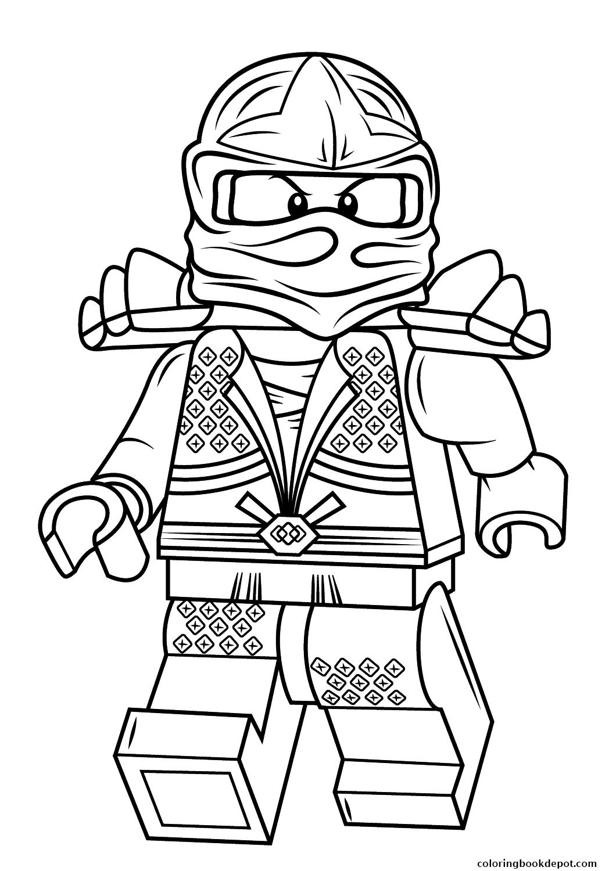 Ninjago Lord Garmadon Coloring Pages at GetDrawings   Free ...