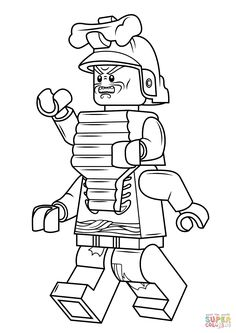 Ninjago Lord Garmadon Coloring Pages At Getdrawings Free Download