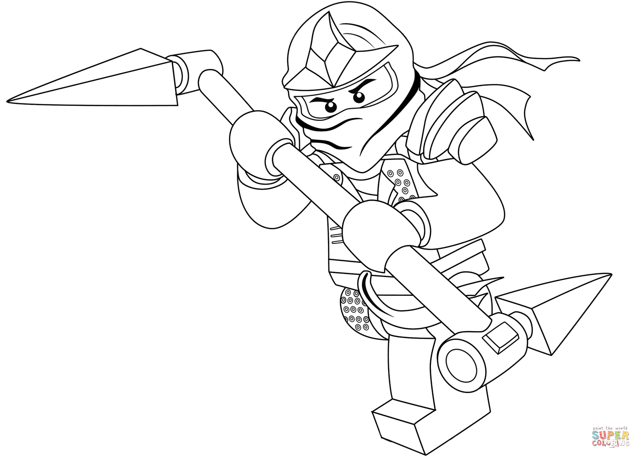 Ninjago Morro Coloring Pages
