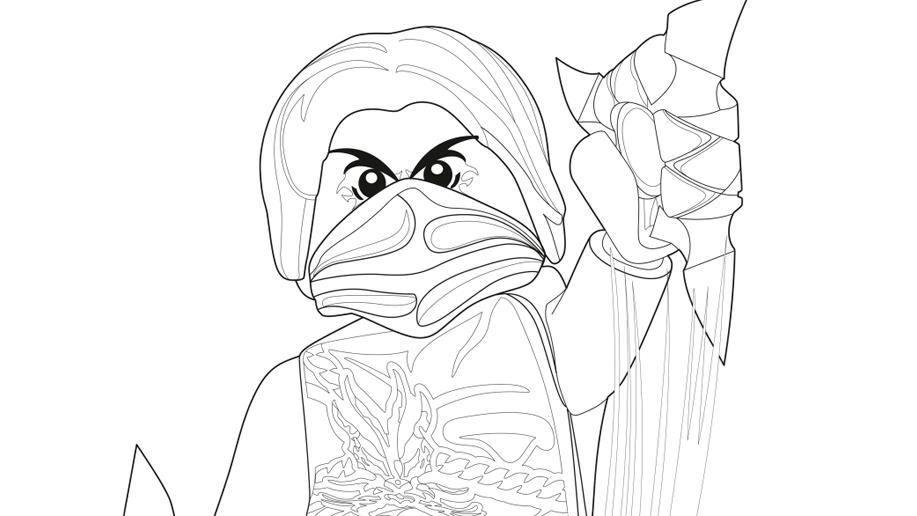 ninjago morro coloring pages at getdrawings  free download