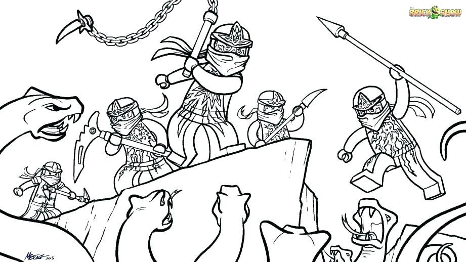 921x518 Ninjago Coloring Pages Free Printable Astounding Coloring Page