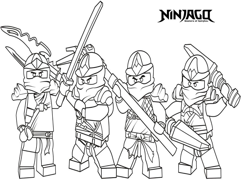 1024x768 Free Ninjago Coloring Pages Newyork Rp Free Printable Ninjago