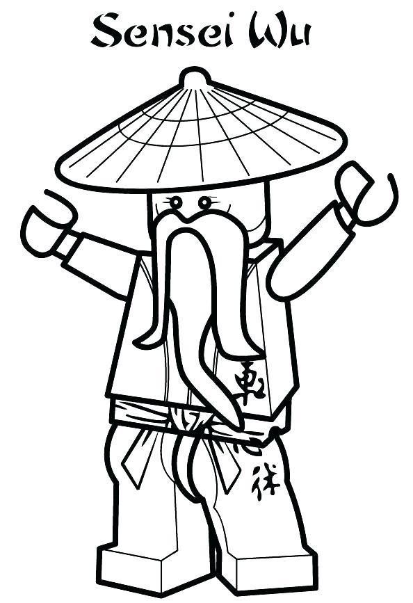594x867 Ninjago Coloring Pages To Print
