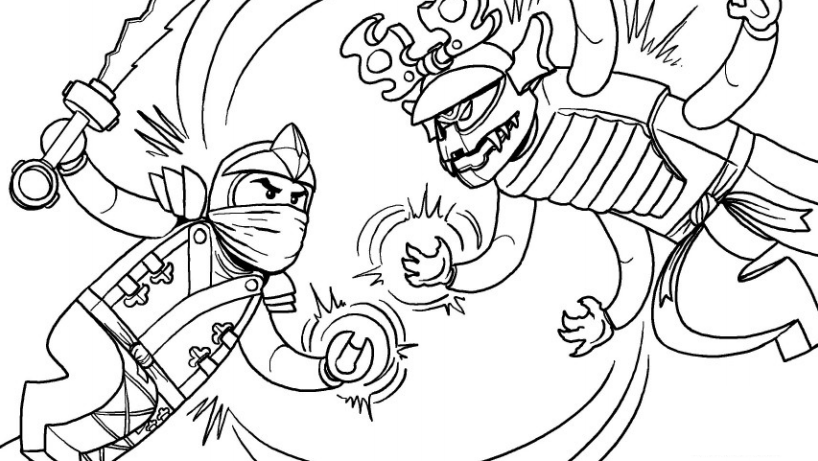 818x461 Lego Ninjago Coloring Pages Coloring Pages For Kids