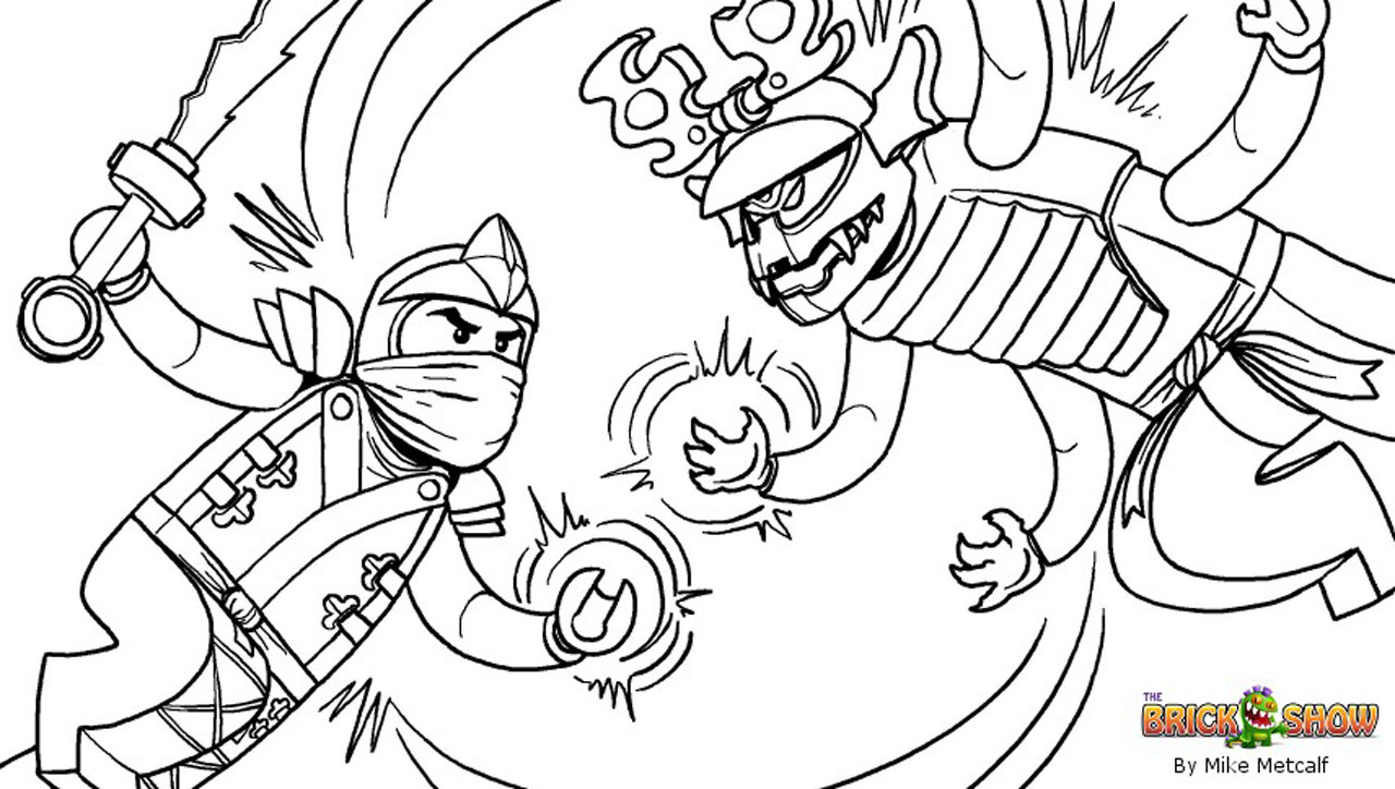 Ninjago Printables Coloring Pages