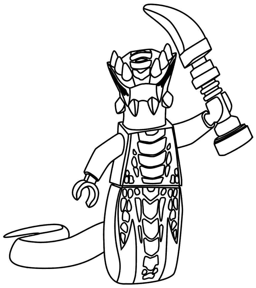 Ninjago Snake Coloring Pages At Getdrawings Com Free For
