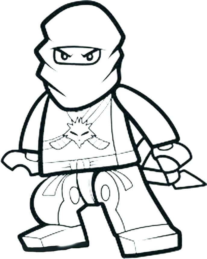Ninjago Zane Coloring Pages At Getdrawings Com Free For Personal