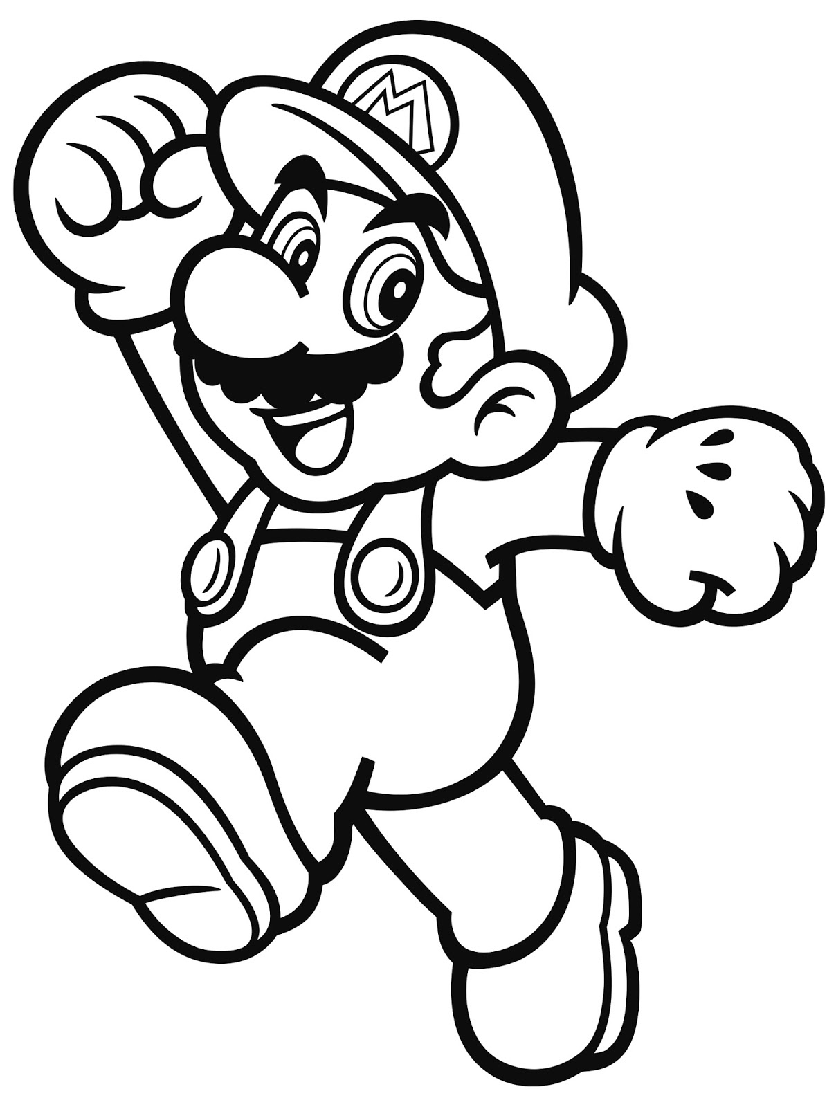nintendo characters coloring pages at getdrawings | free