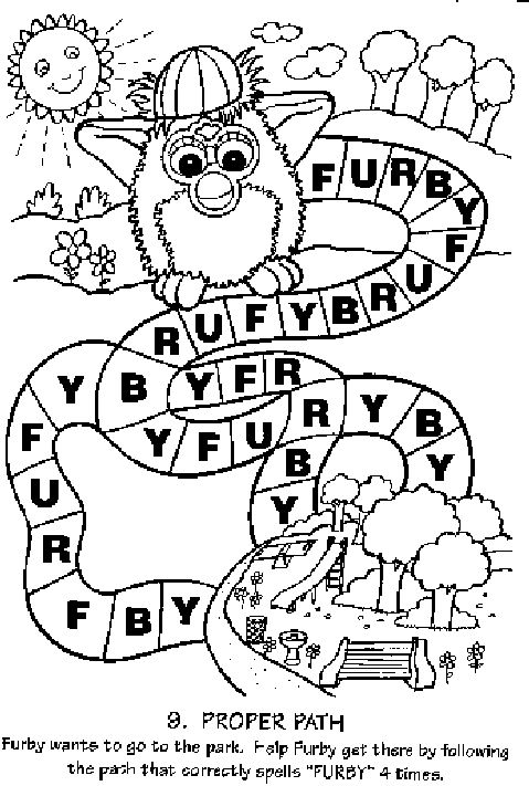479x711 Best Furby Coloring Pages Images On Coloring Books