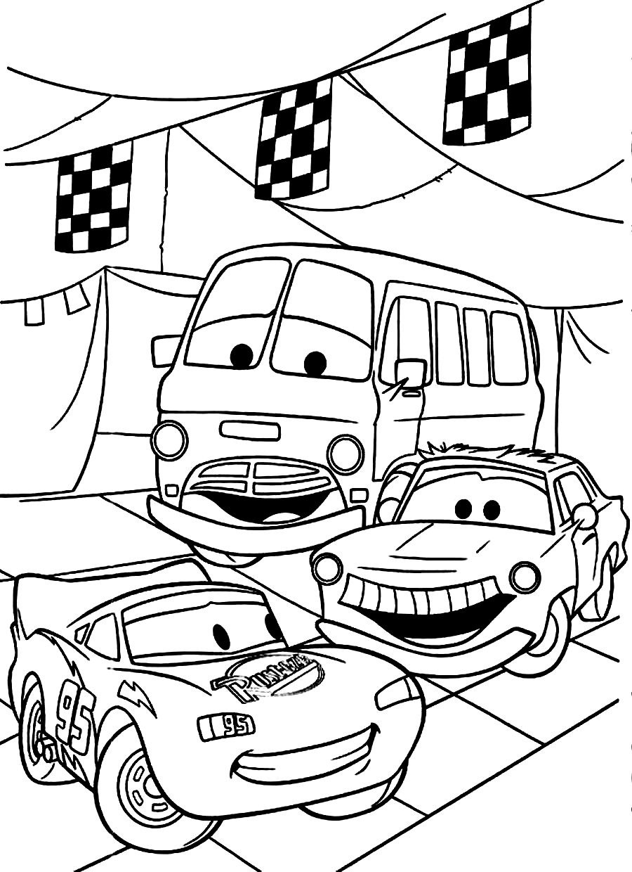 900x1240 Coloring Book Cars Pages Walt Disney So Nice And Cute For Kids