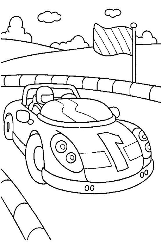 554x834 Top Race Car Coloring Pages For Your Little Ones Ferrari, Bmw