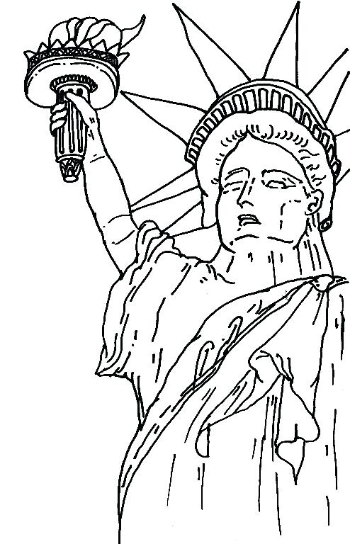 494x768 New York Skyline Coloring Page City Skyline Coloring Pages New