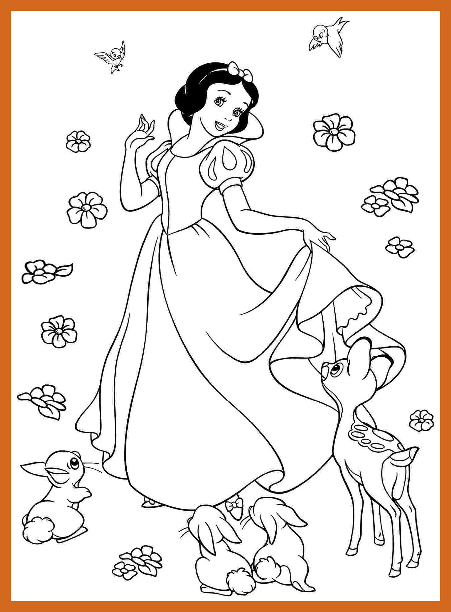 1466x1990 Amazing Baby Disney Princess Coloring Preschool For Cure Page