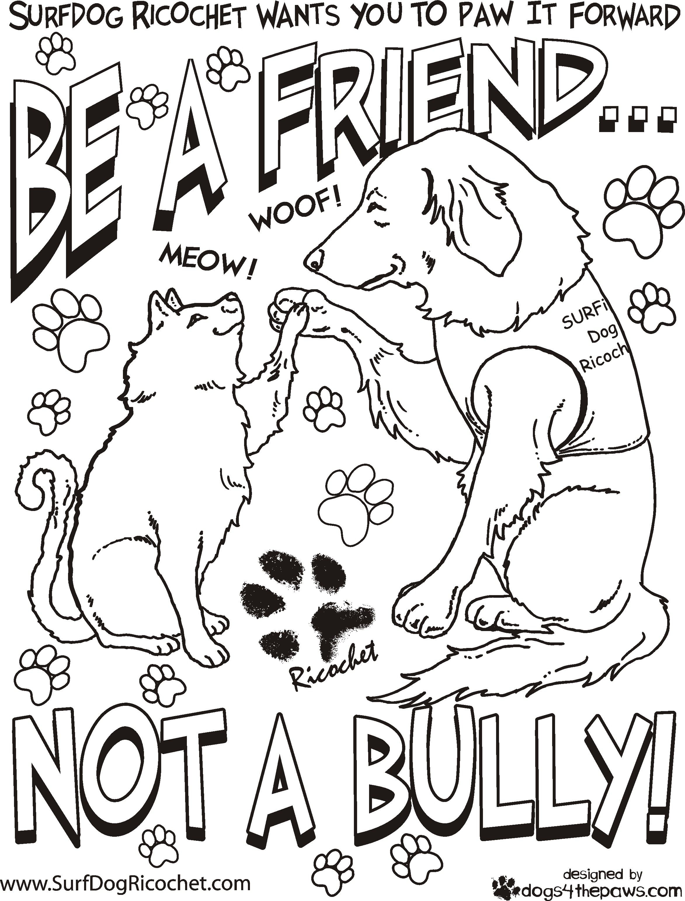 2346x3084 Free Bullying Coloring Pages Free Printable For Kids Worksheets